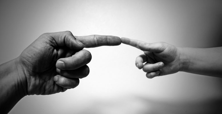 black-and-white-fingers-hands-73805
